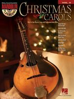 Christmas Carols Sheet Music Mandolin Play-along Book And Cd 000119895