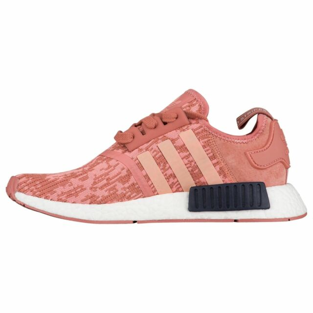 info for 7cc0d 914e9 Adidas Women's NMD R1 Raw Pink/ Trace Pink/ Legend Ink Size 10-BY9648