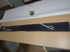 "excellent vintage hardy graphite cane  fly fishing rod bag up to 8ft 6"" 2pce. ."