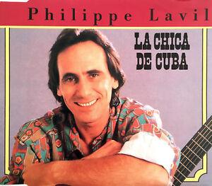 Philippe-Lavil-Maxi-CD-La-Chica-De-Cuba-France-M-M