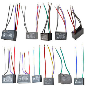Details about CBB61 250VAC Replacement Capacitors for Harbor Breeze on
