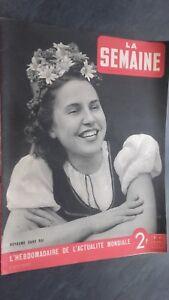 Revista La Semana Semanal Demuestra Reino Sin Real N º 41 Abril 1941 ABE