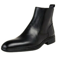 Bally Mens Newsom Side Zip Business Casual Dress Shoes Fashion Ankle Boots