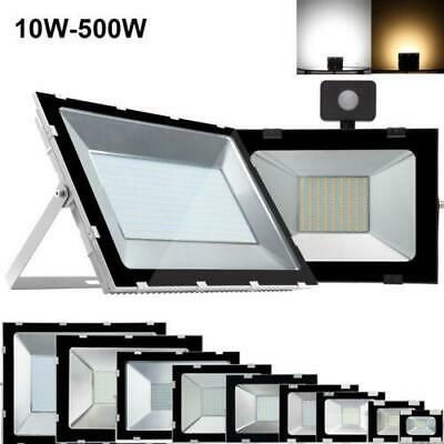 Flutlicht Bewegungsmelder Außenstrahler 10w Warmweiss Waterproof Garage LED