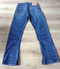 LEVI'S TWISTED BOOTCUT JEANS SIZE  30 X 32 RED TAB DISTRESSED VGC SEE DESCRPTN