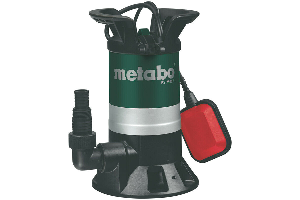 Metabo agua sucia-sumergible PS 7500 s 0250750000 bomba de jardín 450 W
