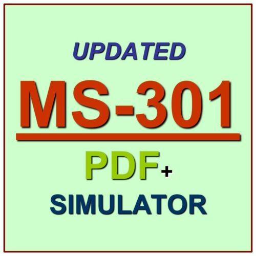 Latest MS-301 Verified Practice Test Exam QA SIM PDF+Simulator