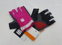 Sportful Women's Sportful Girl Half Finger Women's Cycling Gloves Purple Size L