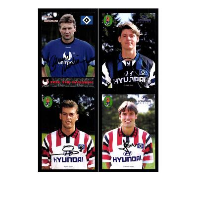 Autogrammkartensatz Hamburger SV 1995-96 17 Karten Original Signiert(341)