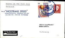 Schiffspost Schiff INCOTRANS SPEED 1980 mit Paquebot Brief mit Panama Briefmarke