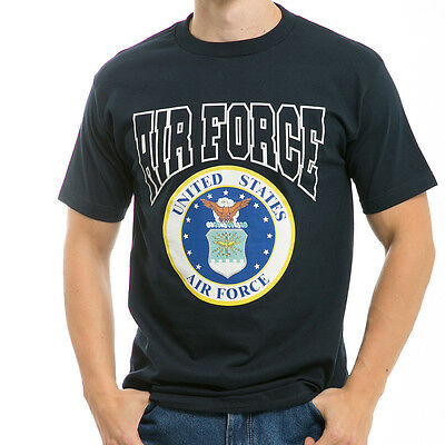 United States USAF US Air Force Military T-Shirt T-Shirts Shirts - Made in USA