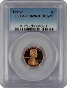 1997-S-Lincoln-PROOF-Cent-Graded-PR69RD-DCAM-by-PCGS