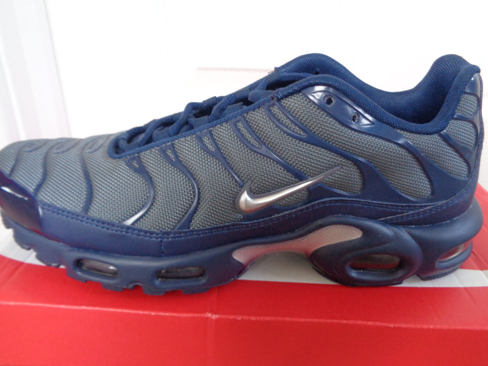 Nike Air max plus trainers sneakers shoes 852630 012 eu 42.5 us 9 NEW+BOX