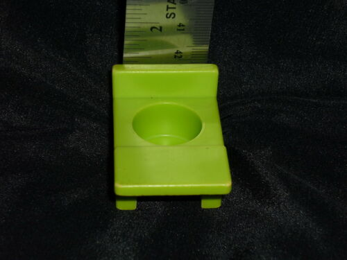 Fisher Price Little People Vintage Green Student School Desk Chair