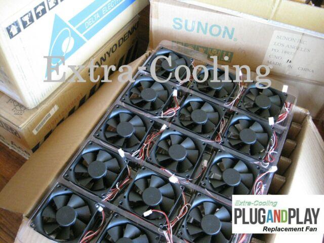 800-23841-01 800-23841-02 3x New Sunon//Delta Fans Cisco 2821//2851 Fan Kit