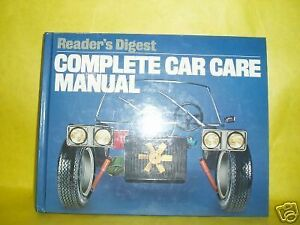 complete car care manual by reader s digest editors 1981 hardcover rh ebay com complete car care manual caa complete car care manual