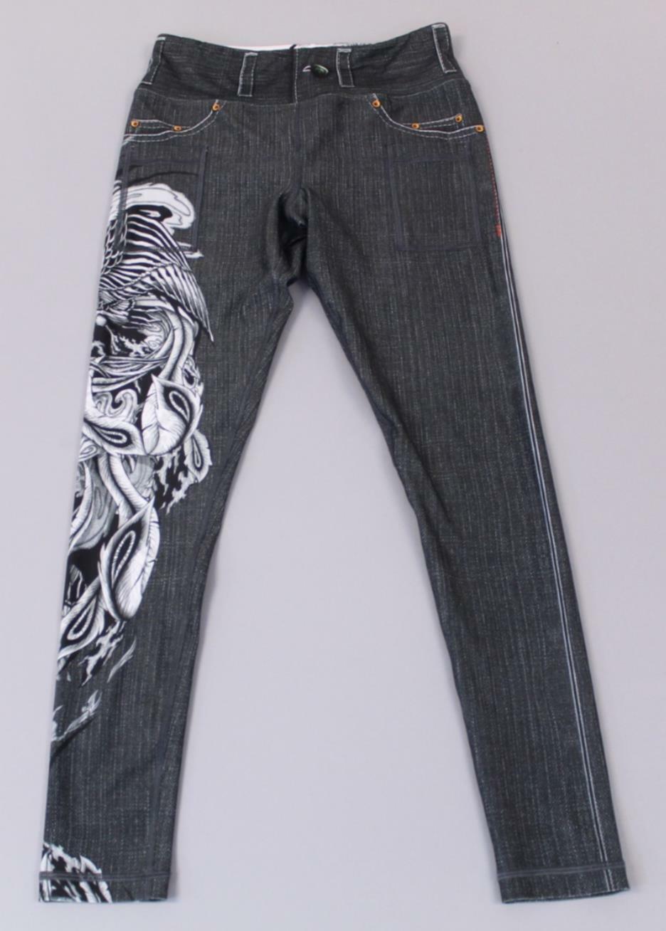 INKnBurn  Mujer Phoenix Calzas GG8 Multi-Color Tamaño 30x31  94.95  edición limitada en caliente