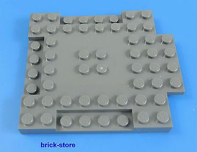 1x Lego 8x8 Basic Platte grau dunkelgrau Star Wars Ritterburg A8