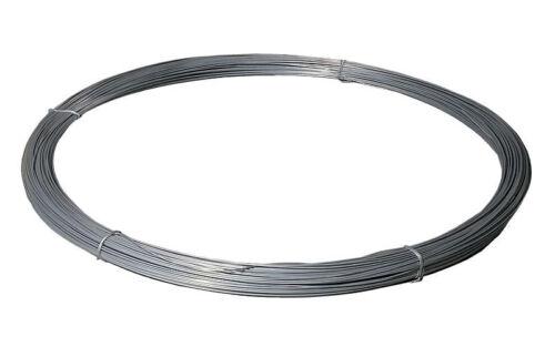liso alambre para largos firmemente valla instalaciones galvanizado 5x200m Alambre acero 1000m 2mm