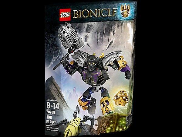 LEGO BIONICLE/70789 ONUA MAESTRO DELLA TERRA/regalo gratuito ✔ NUOVO CON SCATOLA NUOVO SIGILLATO ✔ ✔ veloce P & P