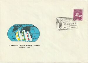 1991 Lithuania cover 4th World Lithuanian Sports Games
