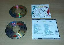 2CDs  Pop & Wave Vol.2  A-Ha, New Order, The Cure u.a.  36.Tracks  1992  07/16