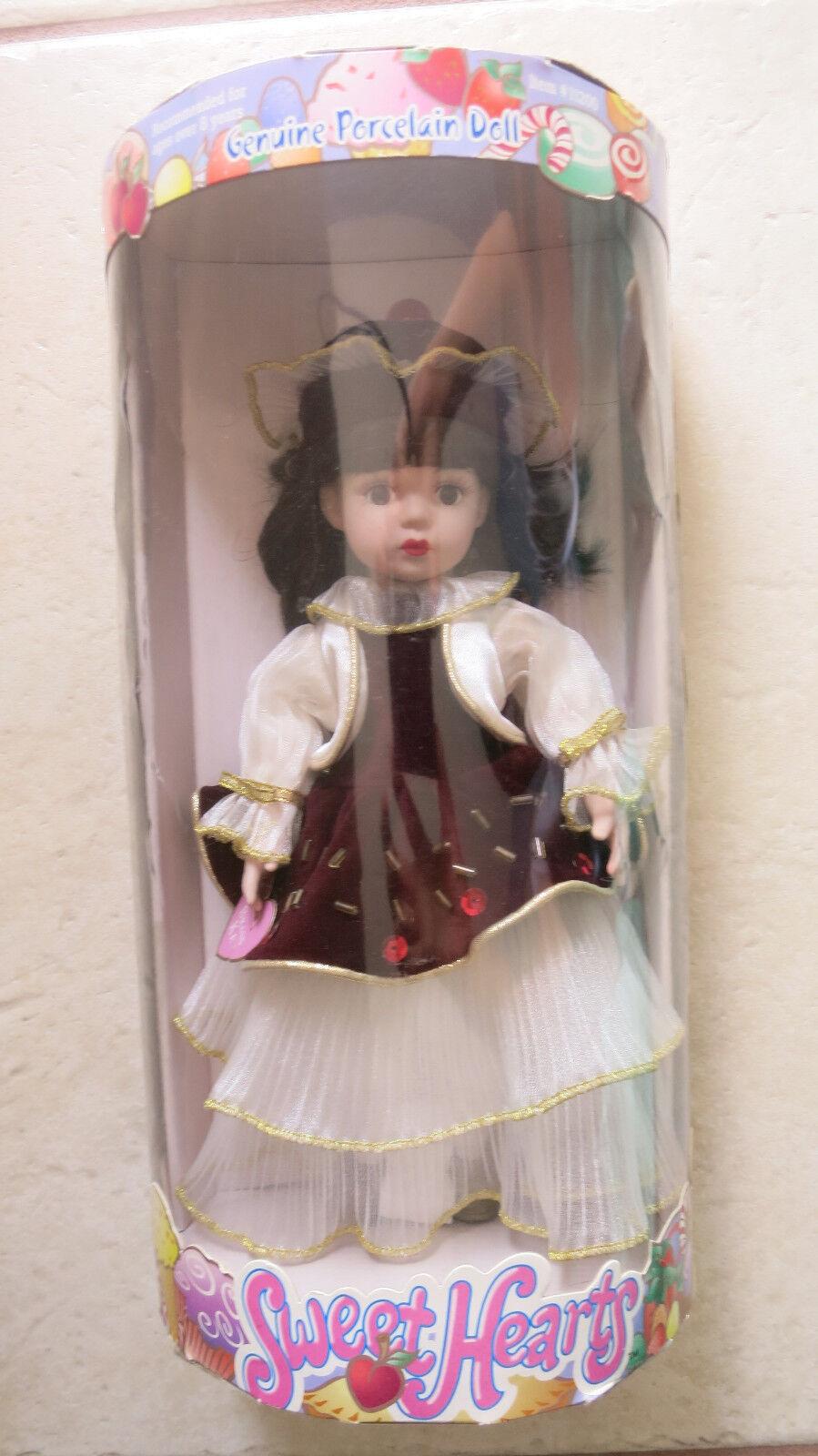 Original Muñeca De Porcelana Nº de artículo 11200 Llave De Latón Dulce Corazones características Pintado A Mano