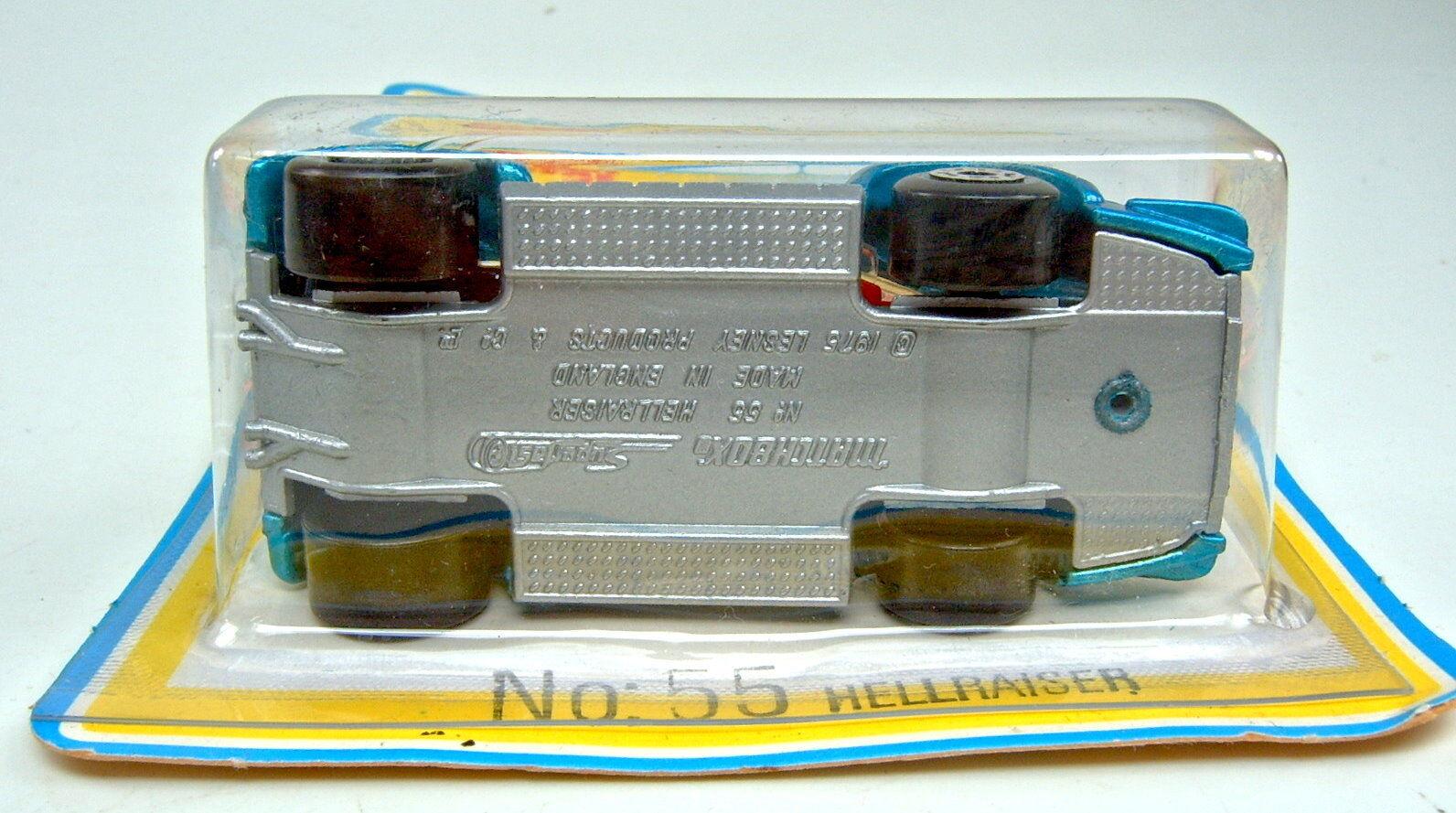 MATCHBOX SF N. 55c Hellraiser Blu Rare istituzione istituzione istituzione ROSSA TOP IN BLISTER a20cb2