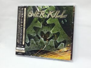 Over-Kill-The-Schleifscheibe-CD-DVD-BONUS-TRACK-Limited-Edition-aus-Japan