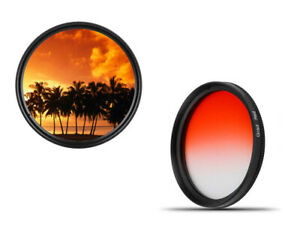 Dhd-Digital-Branded-49mm-Color-Graduated-Filters-Red-Screen-49-Mm
