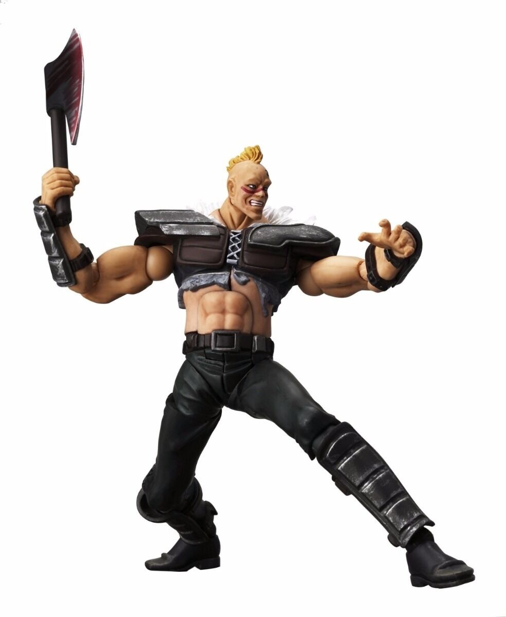 Legacy of Revoltech LR-007 Fist of the North Star Exploding  ZEED Gang Figure