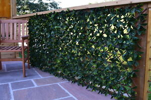 Extendable Artificial Hedging Garden Privacy Screening Ebay