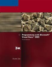 Visual Studio: Programming with Microsoft Visual Basic 2005 by Diane Zak (2006,