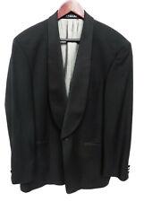 9b905125 HUGO BOSS Mens Black Tschaikowsky Scala Super 100 Wool Blazer Suit Tuxedo  42R