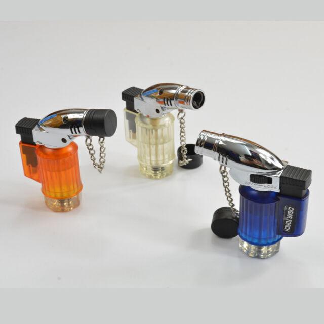 Mini Jet Cigarette Cigar Windproof Butane Gas Refillable Lighter Torch Lighter
