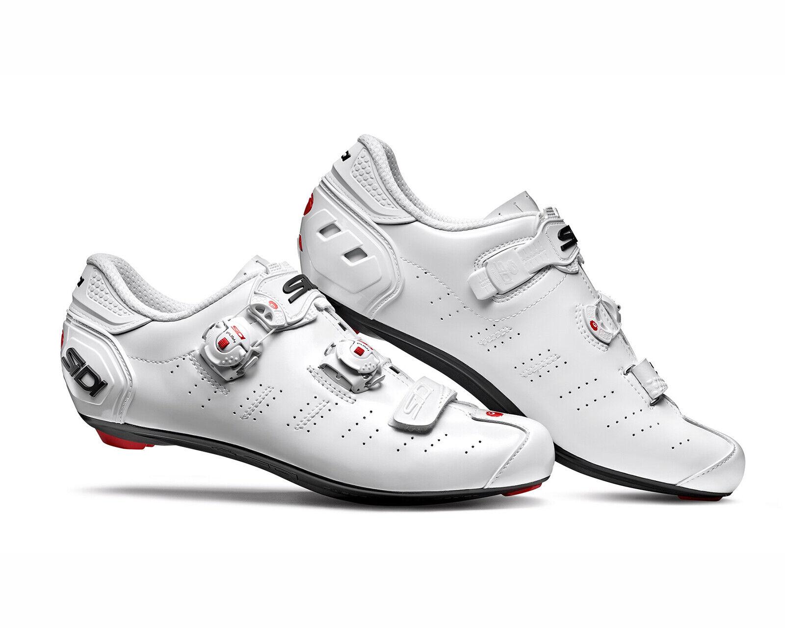 SIDI Ergo 5 Radfahren schuhe 2019 - Weiß Weiß