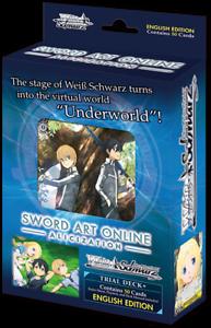 Alicization English Trial Deck+! Weiss Schwarz Sword Art Online