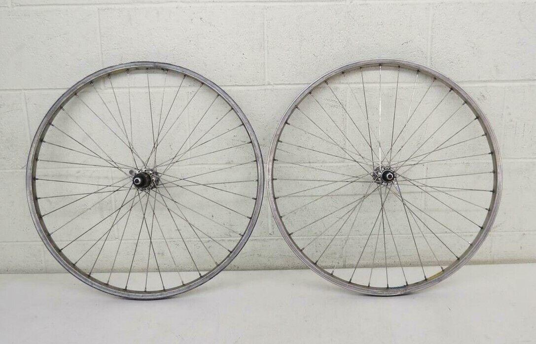 Vintage 32-Spoke 26  Mtn Bike Wheelset Specialized GX26 Rims Deore MT60 Hubs