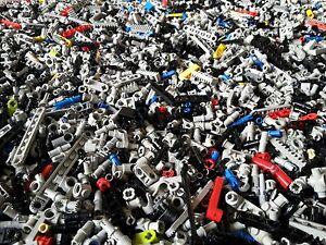 Lego Technic 200 Kleinteile Pins Verbinder Gelenke Halter Technik (L202)