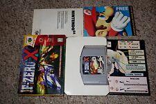 F-Zero X (Nintendo 64 n64, 1998) with Box GREAT A