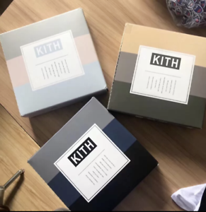 New York PASTEL // Ronnie Feig 3 COLOURS IN EACH PACK Kith BOX OF 3 SHIRTS