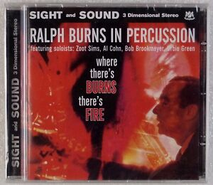 Details about RALPH BURNS: In Percussion, Where There's Burns, There's Fire  WARWICK Jazz CD