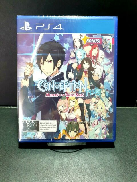 Conception Plus Maidens of the Twelve Stars PS4 Game NEW & Sealed PlayStation 4