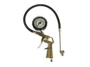 Tyre Pressure Gauge MAYPOLE Gun With Tyre Chuck