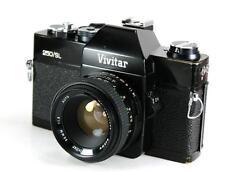 Vivitar 250/SL 35mm SLR Film Camera M42 Mount + 50mm F1.8 Lens