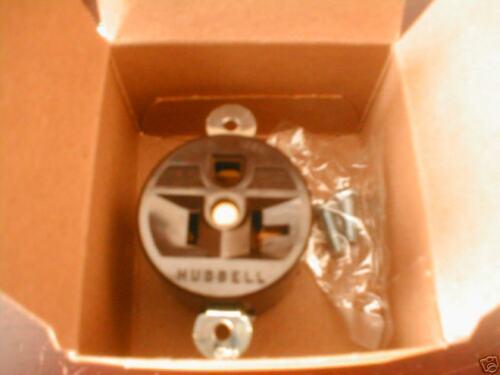 Hubbell HBL 5358 Single Receptacle NEMA 5-20R