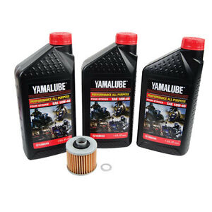 Yamaha Yfzr Oil Change