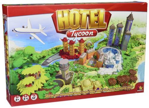 Hotel Tycoon juego de mesa sociedad juego juego de dados Asmodee nuevo