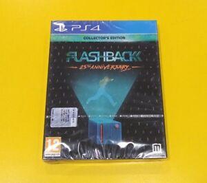 Flashback 25 Th Anniversary Collector's Ed. GIOCO PS4 VERSIONE ITALIANA NUOVO