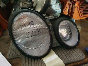 MERCEDES-CLK-1999-OFFSIDE-DRIVER-SIDE-FRONT-LAMP-LIGHT-HEADLIGHT